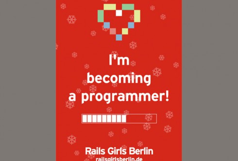 Rails Girls Berlin Poster (Selection)