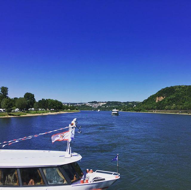 Wo #Rhein und #Mosel sich treffen... ist es auch ganz schön. #nerdbabeontour